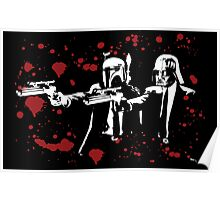 "Darth Vader - Say ""What"" Again! Version 1 (Blood Splatter) Poster"