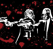 "Darth Vader - Say ""What"" Again! Version 2 (Blood Splatter) by KAMonkey"
