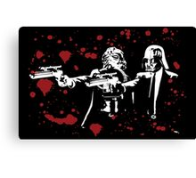 "Darth Vader - Say ""What"" Again! Version 2 (Blood Splatter) Canvas Print"