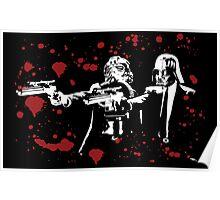 "Darth Vader - Say ""What"" Again! Version 2 (Blood Splatter) Poster"