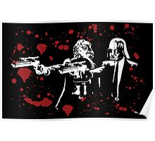 "Darth Vader - Say ""What"" Again! Version 2 (Blood Splatter) Poster"
