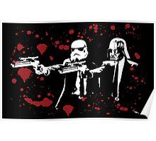 "Darth Vader - Say ""What"" Again! Version 3 (Blood Splatter) Poster"