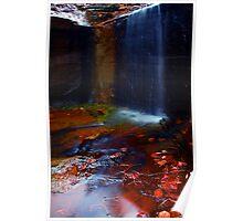 Kalamina Gorge Waterfall Poster