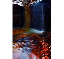 Kalamina Gorge Waterfall Photographic Print