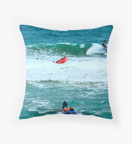 Fairhaven SLSC Surf Carnival (9) Throw Pillow