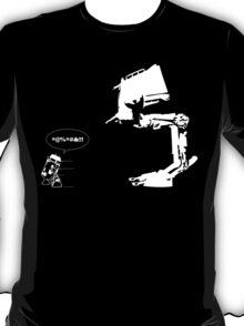 R2D2 - RUN! AT-ST Version T-Shirt