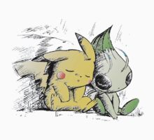 Pokemon 4ever: Pikachu & Celebi Kids Clothes