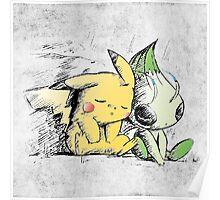 Pokemon 4ever: Pikachu & Celebi Poster