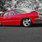 Red Lowrider by Hicksy