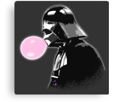 Bubblegum bubble - Vader Style Canvas Print