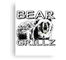 Bear Grillz Canvas Print