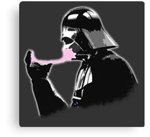 Popped Bubblegum bubble - Vader Style Canvas Print