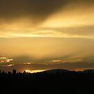 Zagreb sunset 04 by Aneta Bozic