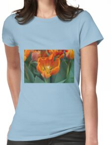 tulips in bloom Womens Fitted T-Shirt