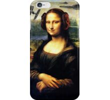 Mona Lisa versus the Empire iPhone Case/Skin