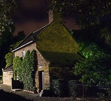 Melbourne at night - Cooks Cottage rear by Mark Teague