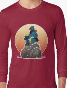 Nausicaa & baby Ohmu taking a break... Long Sleeve T-Shirt