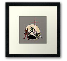 Neon Genesis Evangelion - Hill Top Framed Print