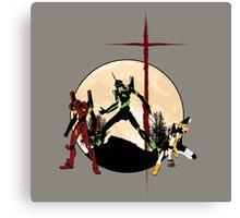Neon Genesis Evangelion - Hill Top Canvas Print