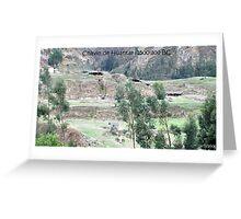 Chivan Monument Greeting Card