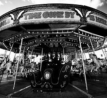 Carousel at Constitution Dock, Hobart, Tasmania by Roger Barnes