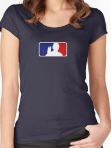 Major League Spock Women's Fitted Scoop T-Shirt