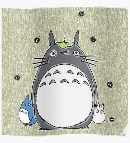 Will you be my neighbor Totoro? Poster
