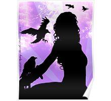Raven Lady Poster