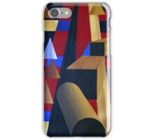 WOODEN PROGRESSIONS 6 iPhone Case/Skin