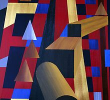 WOODEN PROGRESSIONS 6 by Dennis Knecht