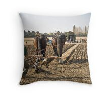 Drawing To A Close Throw Pillow
