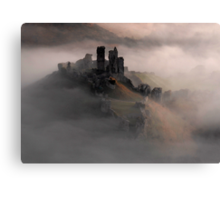 Corfe Castle, Dorset. Canvas Print