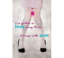 Falling in love Photographic Print