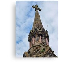 Atholl Memorial Fountain Canvas Print