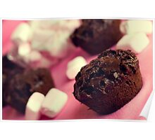 Marshmallow Muffins Poster