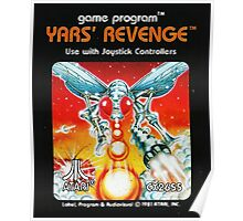Yars' Revenge Cartridge Artwork Poster