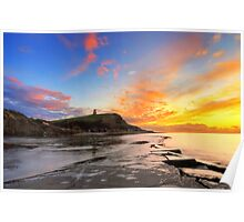 Kimmeridge Bay, Dorset Poster