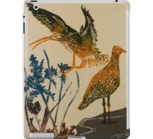 Curlews on the beach iPad Case/Skin