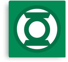 Green Lantern Logo Canvas Print