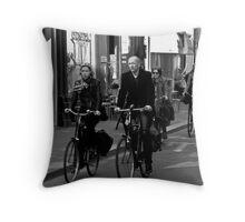 public transport Throw Pillow