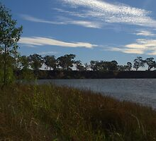 A rippled murray river by ndarby1