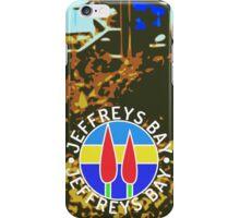 Supertubes, Jeffreys Bay, colour iPhone Case/Skin