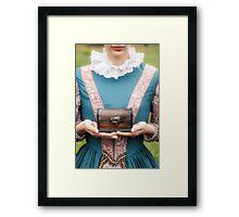 renaissance lady Framed Print