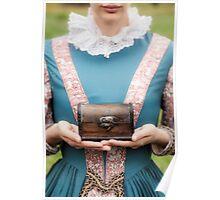 renaissance lady Poster