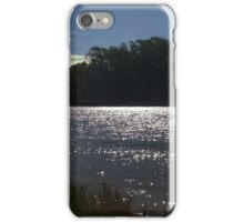 Sunlight on a bend in the river iPhone Case/Skin