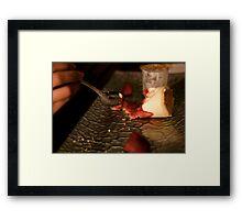 Dessert Tasting Plate Framed Print