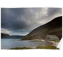 boathouse, loch muick Poster