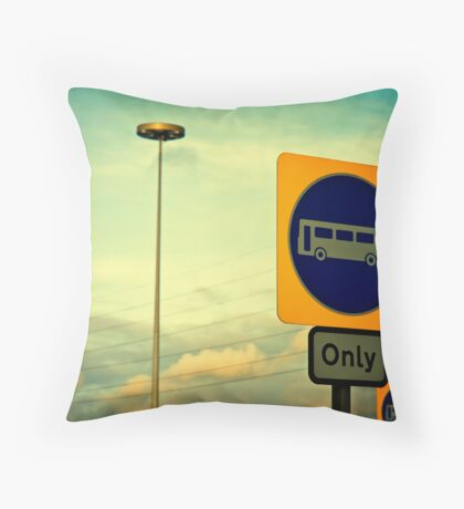The Signs Throw Pillow