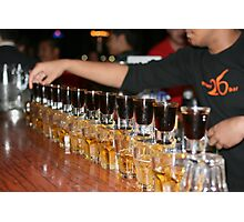 Jager Train Photographic Print