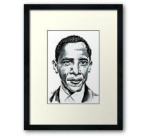 Obama Framed Print